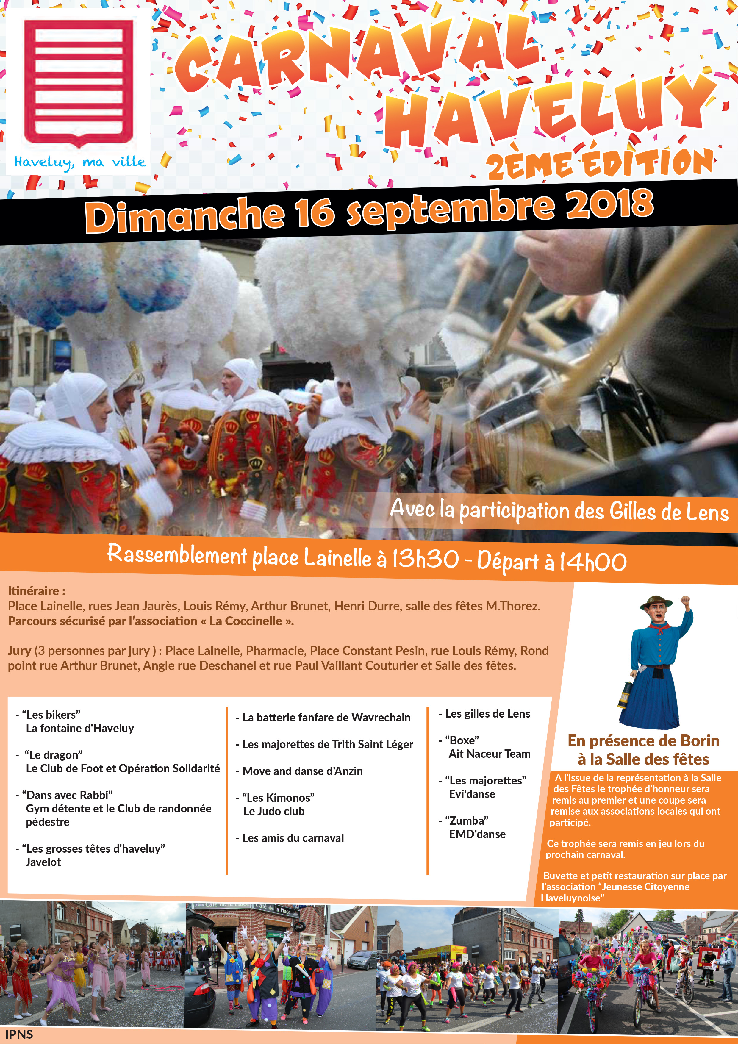 carnaval haveluy 16 septembre 2018