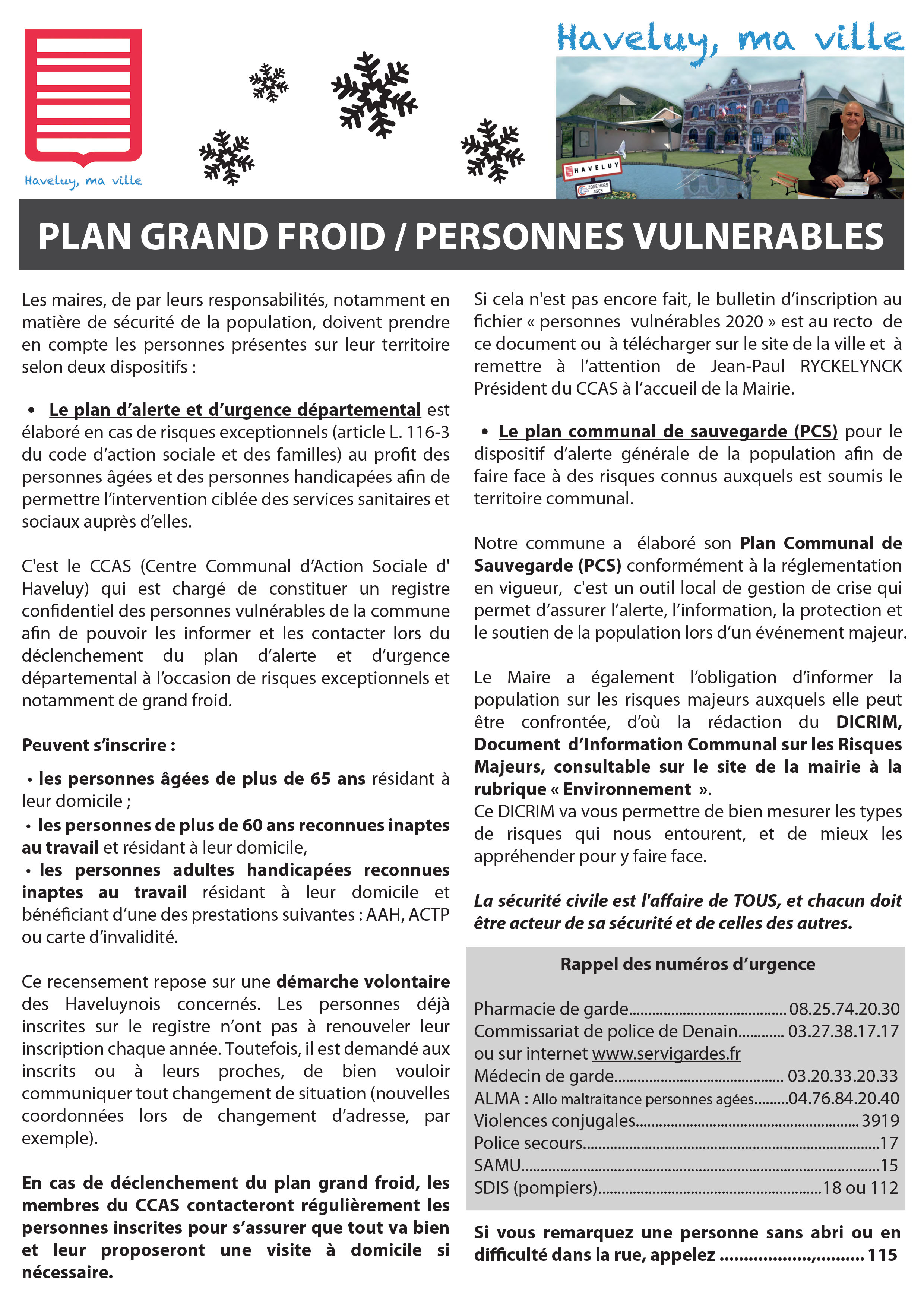 plan grand froid recto