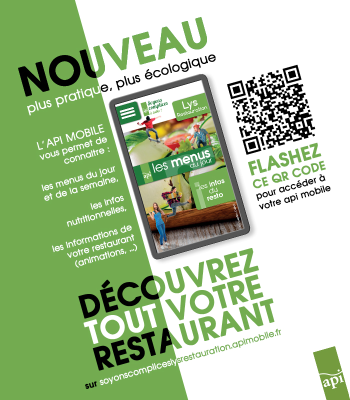 Appi mobile menu cantine