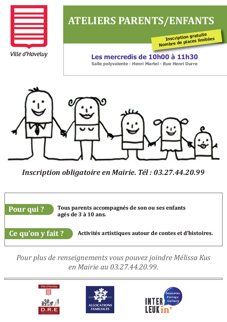 atelier parents:enfants